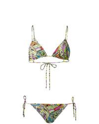 Top de Bikini Multicolor de Etro