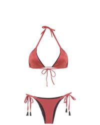 Top de Bikini Naranja de BRIGITTE
