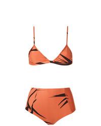 Top de Bikini Naranja de Haight