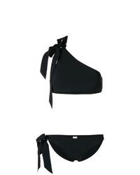 Top de bikini negro de Zimmermann