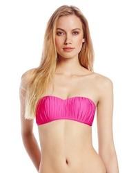 Top de bikini rosa de Seafolly