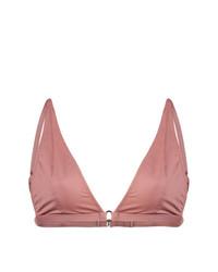 Top de bikini rosado de Fleur Du Mal