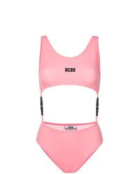 Top de bikini rosado de Gcds