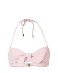 Top de bikini rosado de Suboo