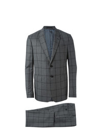 Traje a Cuadros Gris Oscuro de Paul Smith