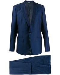 Traje azul marino de Dolce & Gabbana