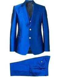 Traje azul de Dolce & Gabbana