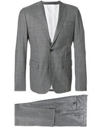 Traje de lana a cuadros gris de DSQUARED2