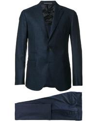 Traje de lana azul marino de Eleventy
