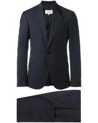 Traje de lana azul marino de Maison Margiela