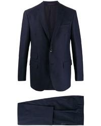 Traje de lana azul marino de The Gigi