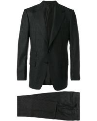 Traje de lana en gris oscuro de Tom Ford