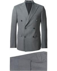 Traje de lana gris de Tagliatore
