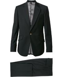 Traje de lana negro de Vivienne Westwood