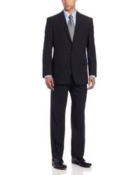 Traje de rayas verticales negro de Calvin Klein