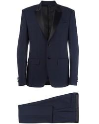 Traje estampado azul marino de Givenchy