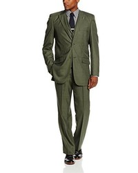 Traje verde oliva de Stacy Adams