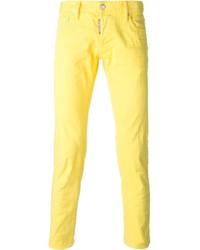 Vaqueros amarillos de DSQUARED2