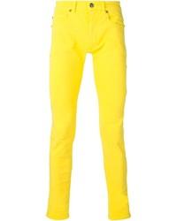 Vaqueros amarillos de Versace