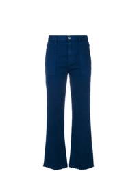 Vaqueros de Campana Azul Marino de Stella McCartney