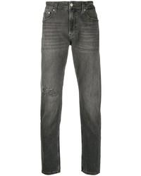 Vaqueros desgastados en gris oscuro de Calvin Klein Jeans