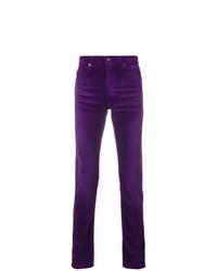 Vaqueros en violeta de Saint Laurent