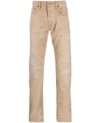 Vaqueros marrón claro de Fabric Brand & Co