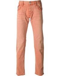 Vaqueros naranjas de Armani Jeans