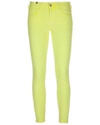 Vaqueros pitillo amarillos de Notify Jeans