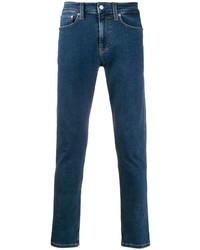 Vaqueros pitillo azul marino de Calvin Klein Jeans