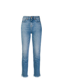 Vaqueros pitillo azules de 7 For All Mankind