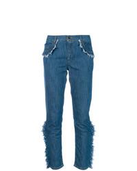 Vaqueros pitillo azules de Boutique Moschino