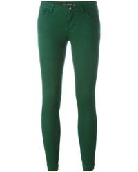Vaqueros pitillo de algodón verdes de Dolce & Gabbana