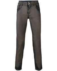 Vaqueros pitillo en marrón oscuro de Dolce & Gabbana
