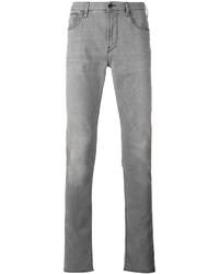 Vaqueros pitillo grises de Armani Jeans