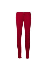 Vaqueros pitillo rojos de Dolce & Gabbana