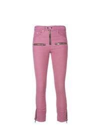 Vaqueros pitillo rosa de Isabel Marant Etoile