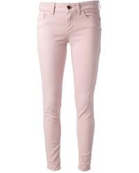 Vaqueros pitillo rosados de Twin-Set Jeans
