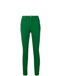 Vaqueros pitillo verdes de Dolce & Gabbana