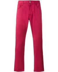 Vaqueros Rojos de Armani Jeans