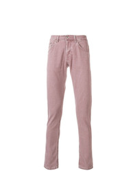 Vaqueros rosados de Dondup