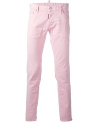 Vaqueros rosados de DSQUARED2