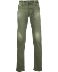 Vaqueros verde oliva de AG Jeans