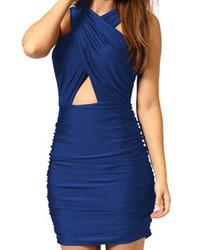 Vestido ajustado con recorte original 9509077