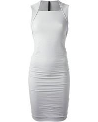 Vestido ajustado gris original 1385907