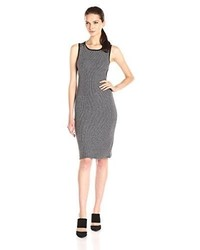 Vestido ajustado gris de Olive & Oak