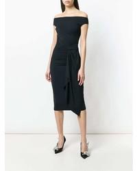 Vestido ajustado negro de Le Petite Robe Di Chiara Boni