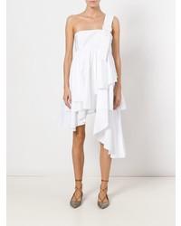 Vestido amplio blanco de Daizy Shely