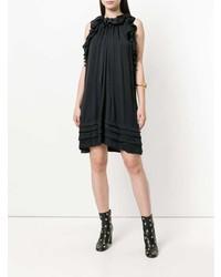 Vestido amplio negro de Chloé