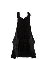 Vestido amplio negro de Maison Margiela